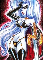 Lady death 1 by mainasha