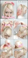 Simple Looped Hair Tutorial by VioletLeBeaux