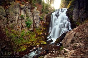 Kings Creek Falls by novelhill