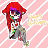 Happy birfday Morgane :DD by StrawberryShark