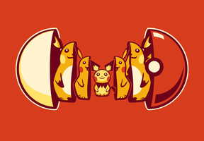 Poketryoshka Electric Type Tumblr by drawsgood