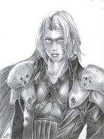 Sephiroth by Reenave