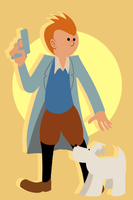 T is for Tintin by Tetris-Fan