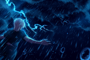 During the storm by Tori001