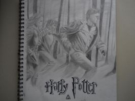 Deathly Hallows Poster by TheHalloweenParade