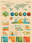 Infographic and diagram design elements vector by DarkStaLkeRR