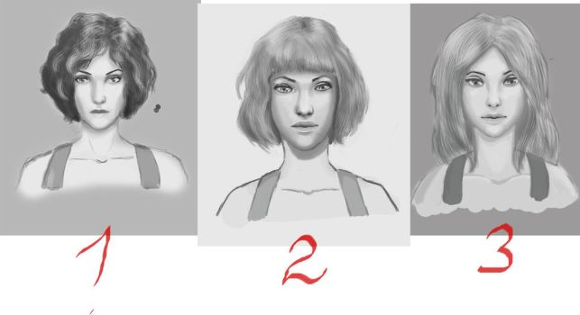 Face 1,2,3 by Hebiss