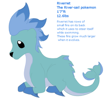 Riverret_fakemon by BehindClosedEyes00