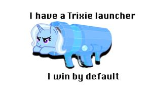 Trixie Launcher by Thepegasusbrony