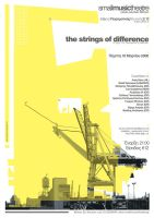 Poster_strings of difference_2 by B-positive