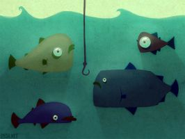 various fish by loish