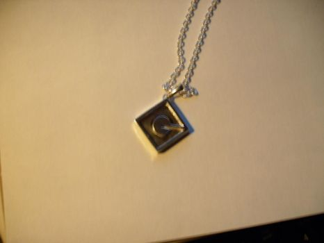 Gru emblem necklace V day gift by Anna-aurion