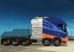 Heavy Duty Tractor Unit with Prototype Engine by SoFDMC