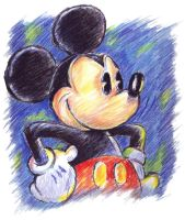 Sketchy Mickey Mouse by stlcrazy