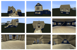 Minecraft House! by Perianth5