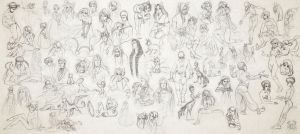 17.12.13 Sketches  by MoonLightRose17