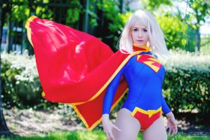New 52 Supergirl  cosplay by clefchan