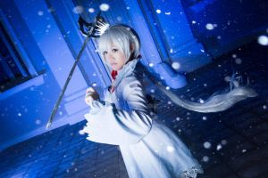 RWBY - Weiss cosplay by GreenTea-Ice