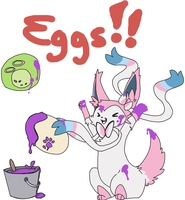 PMDUnity Eggs by kitzune-griffith