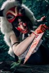 Rage - Princess Mononoke Cosplay by Kawaii-Kioko