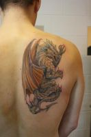 Golden Dragon by SimplyTattoo