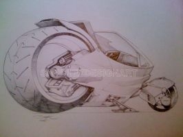 BIKE CONCEPT by SANCHEZDESIGNART