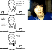When god made andy sixx... by IDrawRandomStuff0