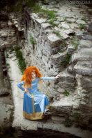 Merida, time to run away by shua-cosplay