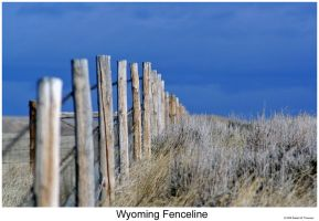 Wyoming Fenceline by hunter1828
