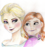 Sisters of Frozen by PWheartgal