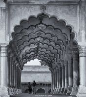 Diwan-i-Am by AndrewToPhotography