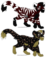 Big Cat Adoptables OPEN by TomisAnimals