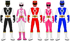 Power Rangers Genesis