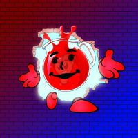 Fella's Kool-Aid Man Costume by FromTheAshes-BSGFX