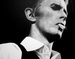 David Bowie as Thin White Duke by Woolf20