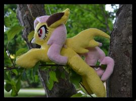 Flutterbat Plush by Mlggirl