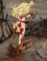 Barbarian Queen by Grphyx1