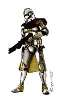Clone commander Bly by ncajayon