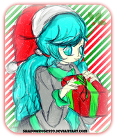 .:Christmas Miku:. by Nine-Roses