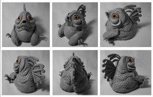 Fat Feesh Sculpt by WithPencilInHand