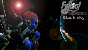 Fallout Equestria: Black Sky Cover by headhunter100060