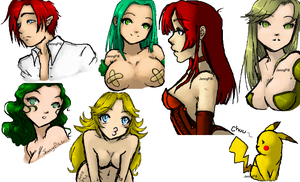 Iscribble Dump3 by TheJennyPill