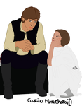 Han and Leia: Taking a Break by leapylion3