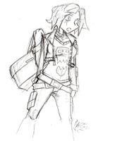Daily Sketch 152: Yet another Izzy sketch by ReluctantZombie