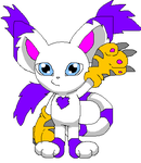 chibi gatomon by Midnightflaze