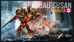 PACIFIC RIM - The SPANDAU SUSAN Jaeger by OmegaManLegend