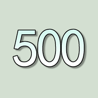 500!!!... by oldiblogg