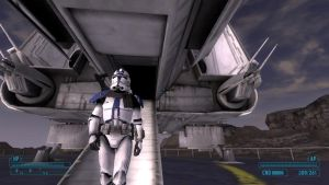Fallout NV Clone Trooper Arrival by shinra123