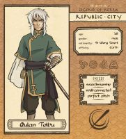 Qulan Tolbu - Republic City by amasugiru