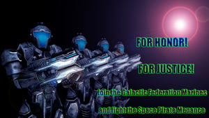 Galactic Federation Recruitment Poster by dumbass333